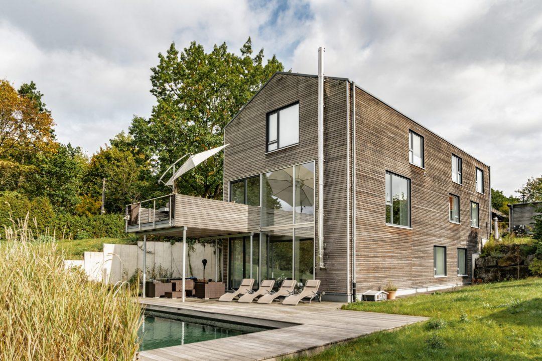 Satteldachhaus: Wohnen und Arbeiten in Einem.